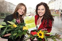 Modelky Michaela Wostlová a Lenka Taussigová