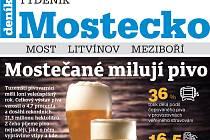 Nové vydání Týdeníku Mostecko