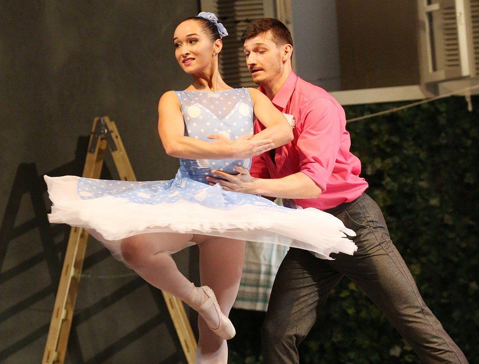 Generálka baletu Marná opatrnost. Ilustrační foto