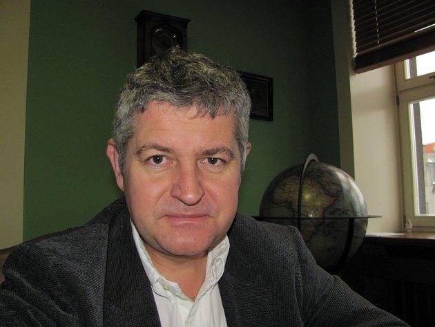 Martin Procházka, předseda dozorčí rady Spolku pro chemickou a hutní výrobu.