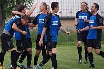 Fotbalisté Tisé mají důvod k radosti.