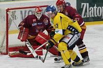Ústečtí hokejisté doma porazili Jihlavu 2:1. Na ledě se o přestávce objevili i Mikuláš s čertem.