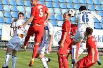 I když po této hlavičce kladenský Holub skóroval, postup do 3. kola MOL Cupu slavilo Ústí po výhře 2:1.