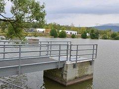 Rybník v Habrovicích.