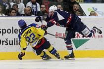 Chomutovští hokejisté nechodí ve finále 1. ligy pro tvrdé zákroky daleko.