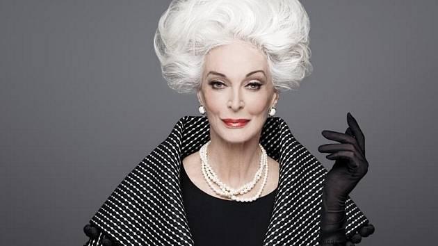 Američance s maďarsko-italskými kořeny Carmen Dell'Orefice patří titul nejdéle pracující modelky.