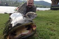 Jan Dorant měl minulý týden na své chatě u Libochovan neuvěřitelné štěstí.