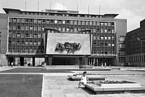 Ústecký magistrát v roce 1974.
