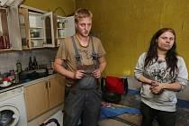 Byt Kristýny Badeové a Radka Vaňka zachvátily v úterý plameny, v nichž skončilo nejenom všechno jejich oblečení, ale také dvě kočky.