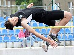 Tradiční Májové závody v atletice. Foto: Deník/Rudolf Hoffmann