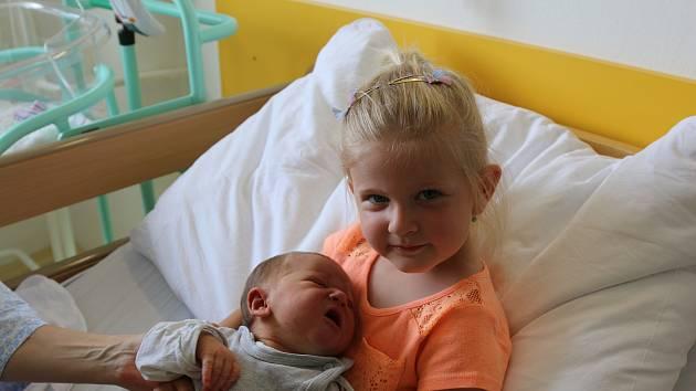 Valérie Hocká se narodila Lucii Hocké z Krupky 16. června v Ústí nad Labem. Měřila 51 cm, vážila 3,7 kg