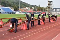 Vše připraveno, hasiči se v pátek 30. srpna pustí do soutěžení
