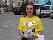 Sbírka Světlušky pro nevidomé v Ústí měla úspěch