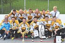 Memoriál Jindřicha Borůvky letos ovládli hokejbalisté Litvínova.