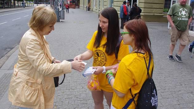 Český den proti rakovině v Ústí.