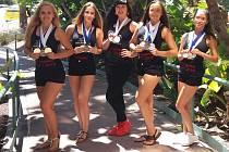 Tanečnice ústeckého Freedomu přivezly z Ameriky tři medaile.