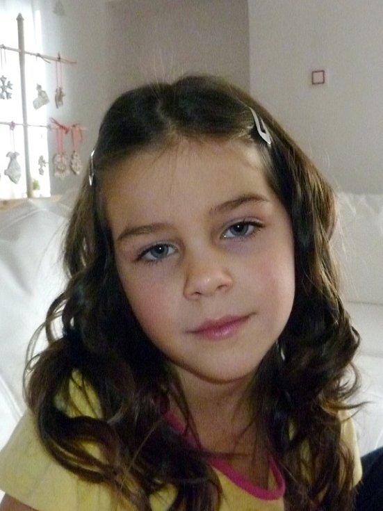 28. ANETKA WOLFOVÁ, 6 let, Bílina – Hrobčice.