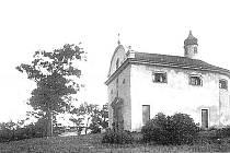 Bývalá kaple na Mariánské skále v době své existence Bývalá kaple na Mariánské skále v době své existence