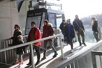 Ústí nad Labem lanovka na Větruši