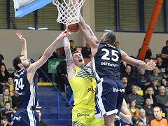 Basketbalový zápas Ústí nad Labem a Ostrava