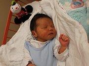 Matyáš Zeman se narodil 6.12. (3.08) Veronice Zemanové. Měřil 49 cm, vážil 3,33 kg.