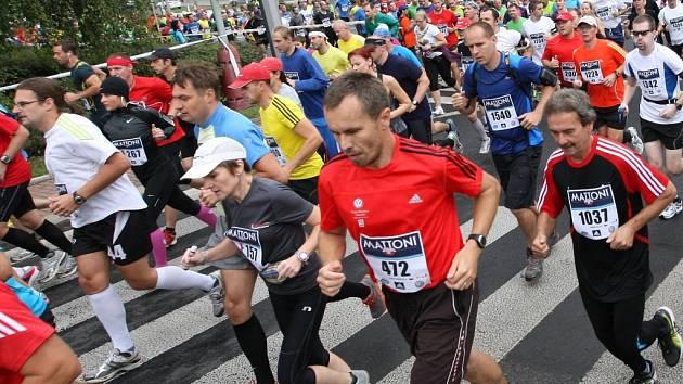 Organizátoři půlmaratonu navýšili pro letošek počet účastníků.