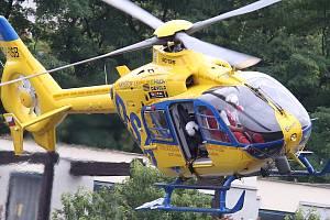 Ilustrační snímek. Vrtulník záchranné služby.
