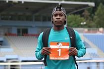 Americký sprinter Dentarius Locke už trénuje v Ústí nad Labem.