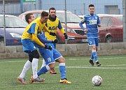 Zimní přípravný zápas Arma Ústí a FK Teplice.
