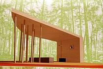 Návrh na náhradu kaple na Mariánské skále.