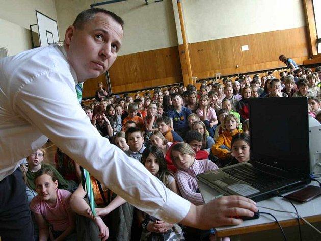 President pražské společnosti Safer Internet Pavel Vichera