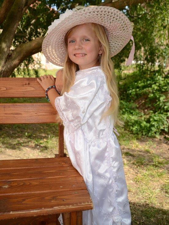 10. ROZÁLKA JINDROVÁ, 5 let, Duchcov.