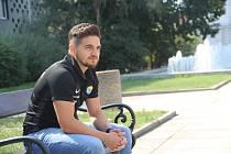 Fotbalista a Ústečan Samer Al-Eraidi.