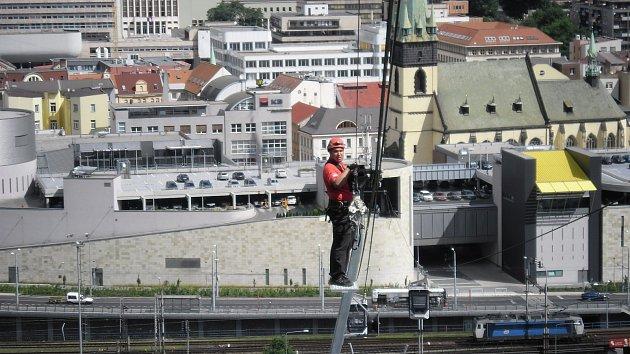 Karel Mařík, náčelník lanovky Ústí
