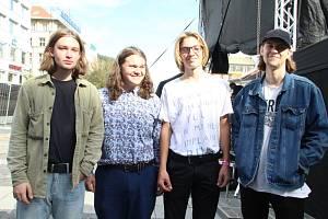 Nadějí, radostí i příslibem pro hudební scénu v Ústí je čtyřka Demowave.
