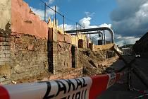 Zeď Spolchemie se dočkala opravy.