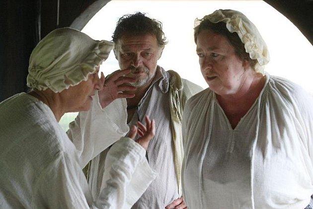Režisér Milan Cieslar začal natáčet v Zubrnickém skanzenu novou filmovou pohádku Dešťová víla.