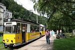 Dějiny této nevšední kuriozity ve sféře veřejné dopravy se začaly psát roku 1898