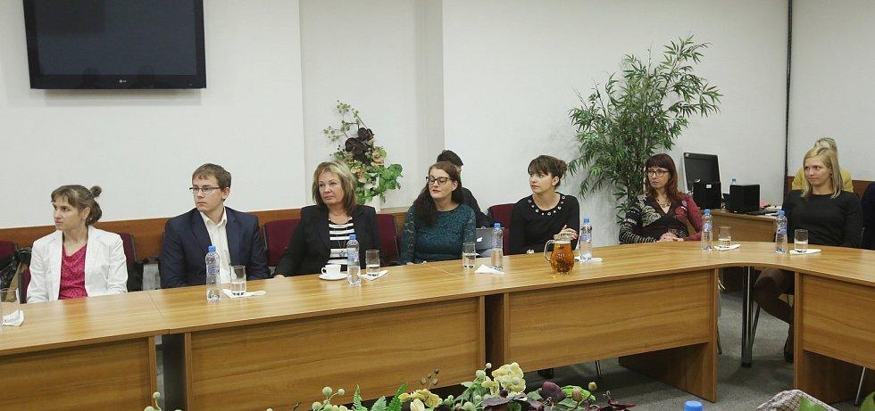 Soutěž Žena regionu, krajské kolo, vyhlášení vítězky.