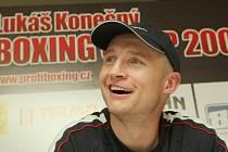 Ústecký boxer Lukáš Konečný