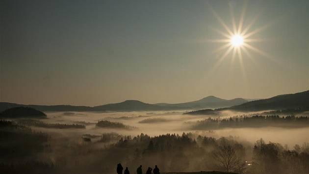 Kryštof Hanžl – Jetřichovice – východ slunce