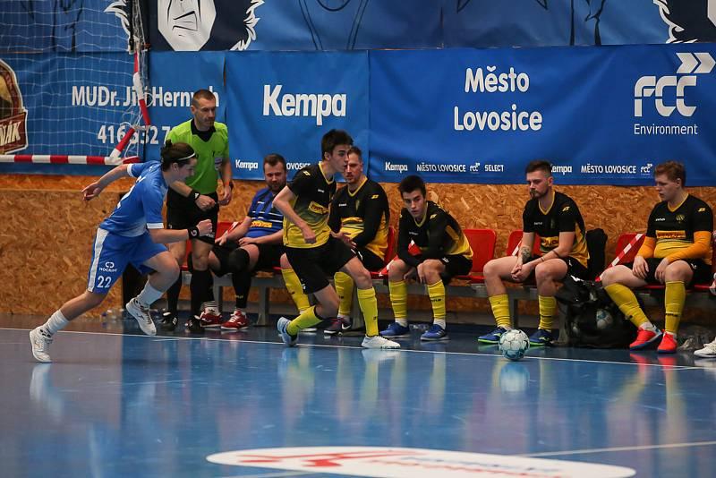 Rapid Ústí n. L. - Helas Brno, 1. FUTSAL liga 2020/2021. Futsal ilustrační