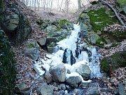 Ústecké vodopády.