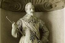 Albrecht Václav Eusebius z Valdštejna, vévoda Frýdlantský. Právě jeho vojska vyhnala Sasy z Ústí.