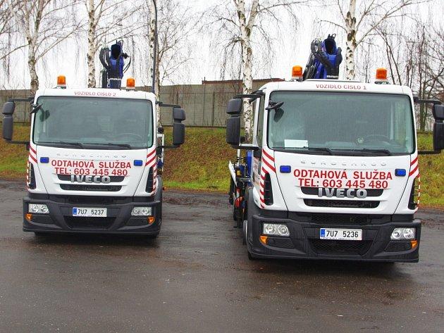 Ústecký dopravní podnik vlastní nově dvě odtahová auta.