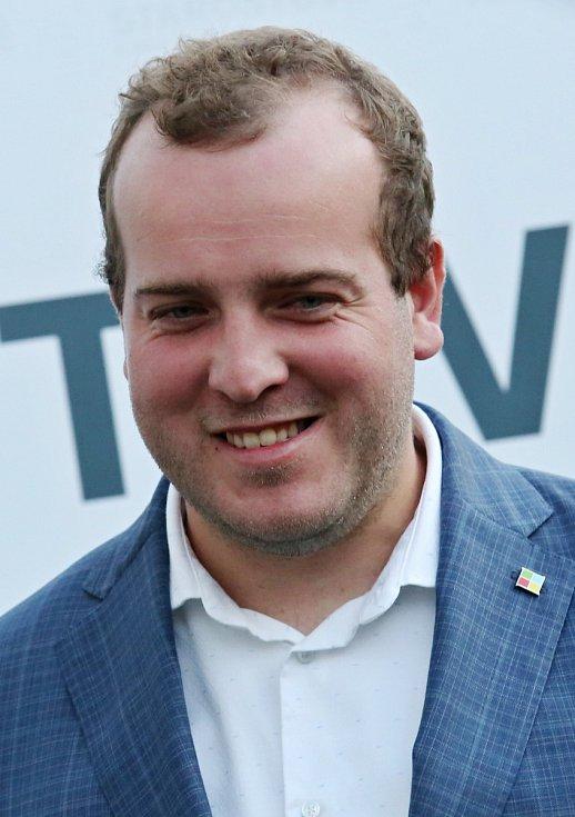 Volební štáb Starostů a nezávislých s lídrem Filipem Ušákem