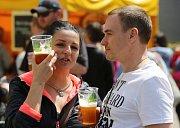 Tradiční přehlídka pivovarů v Ústí nad Labem.