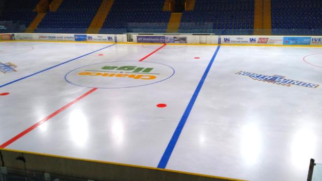Led zimního stadionu v Ústí je připraven nejen pro Chance ligu.