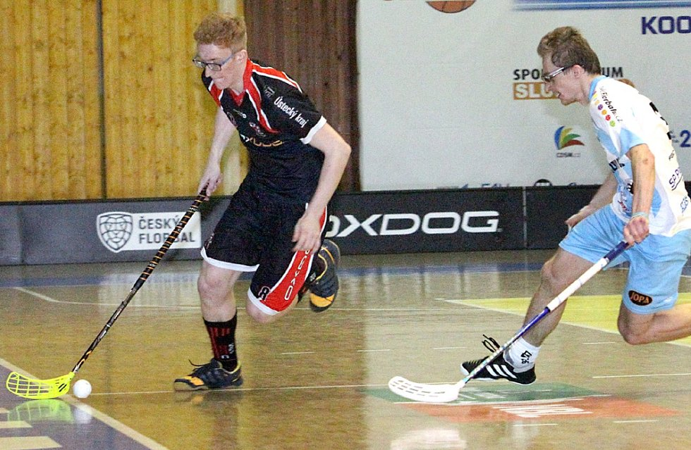 Florbalisté Ústí zvládli čtvrtfinálovou sérii s Českou Lípou a slaví postup.
