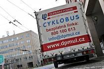 Cyklobus ústeckého dopravního podniku